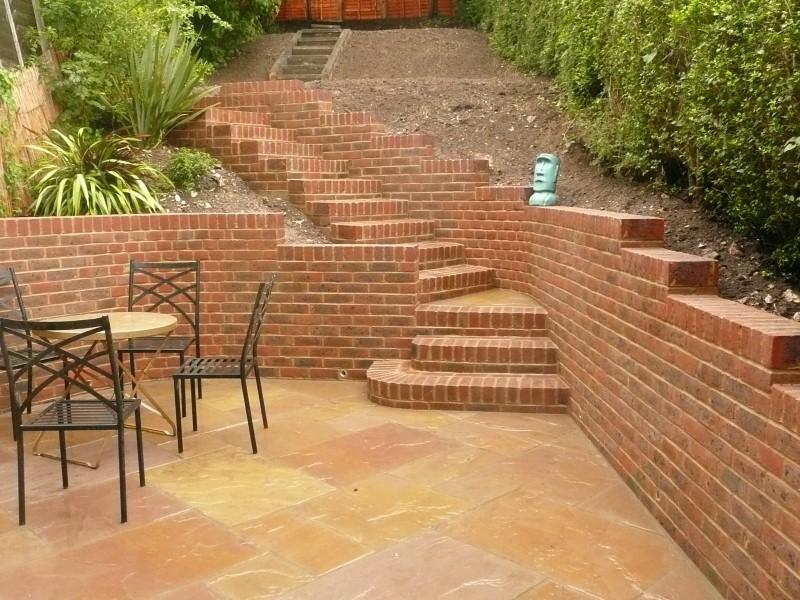 Brighton Hove Landscape Gardener Patios Paving Walling