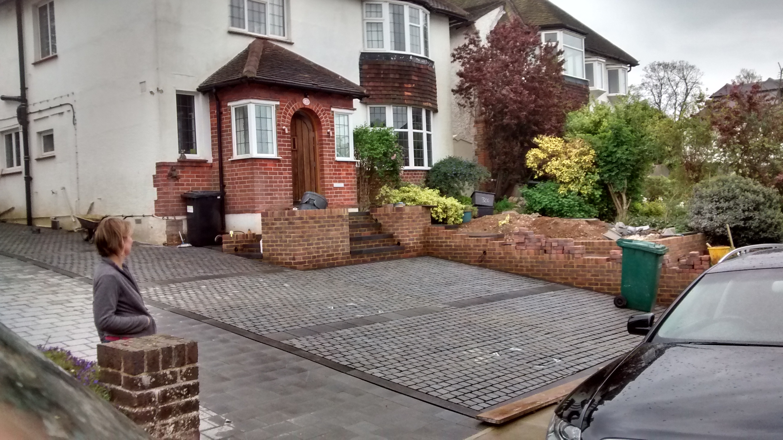 Granite sett drive