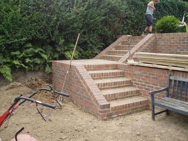 upper steps