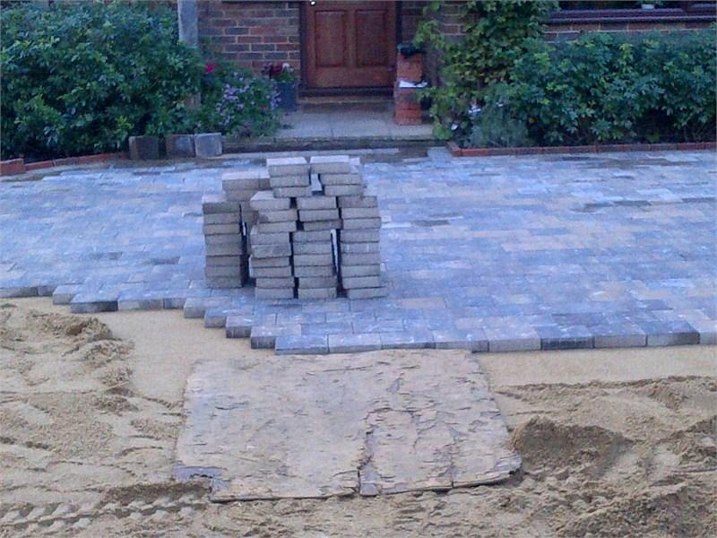 Newick Landscape Gardener Near Lewes Tobermore Block Paved