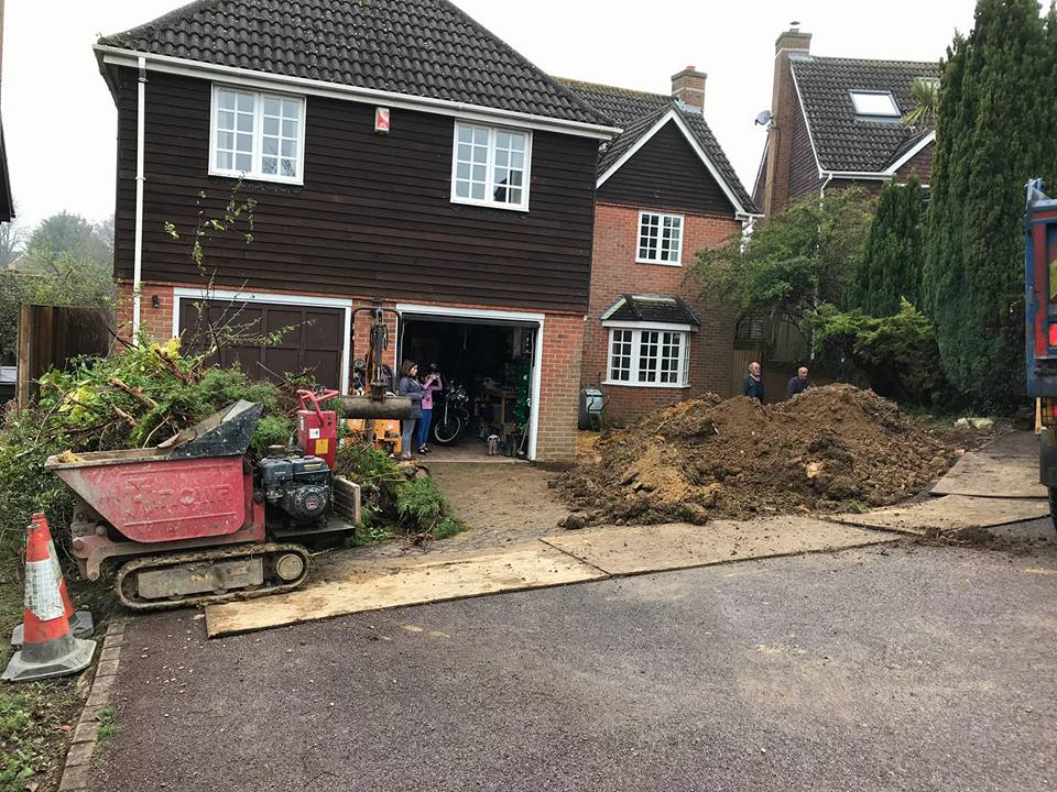 Much digging