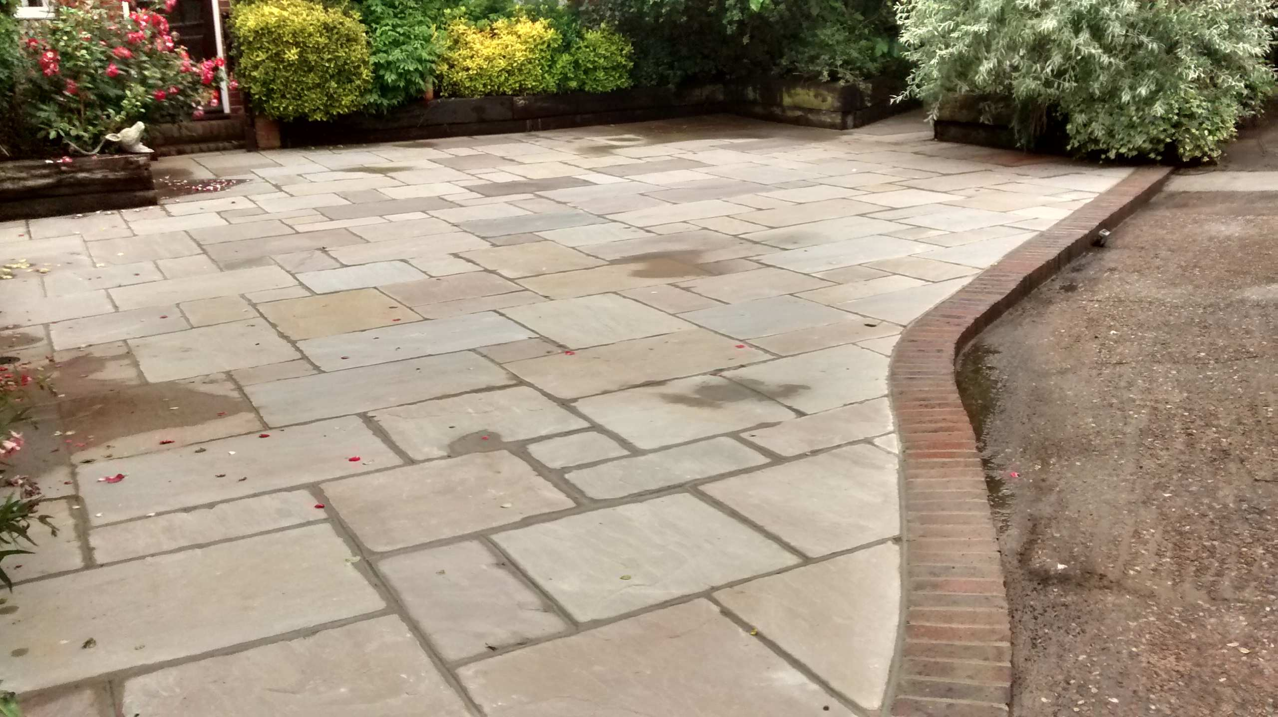 Indian Flagstone patio